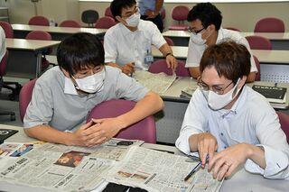 新聞読んで話題豊富に/ACSで東奥日報セミナー