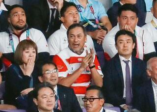 渡辺謙さんも日本代表応援