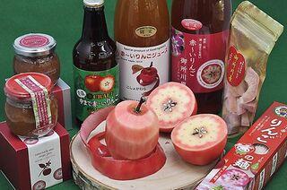 五所川原の果肉まで赤~いりんご/味めぐり