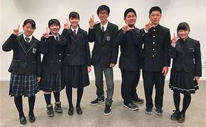 昨年発足した学生団体「LINDEAL」の運営委員たち