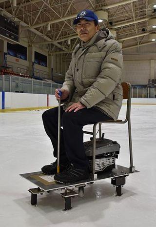氷上、自在に走行/八工大が車両型ロボ開発