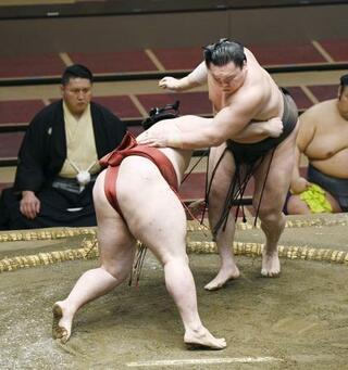 大相撲、白鵬と朝乃山が4連勝