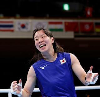 入江、日本女子初の金メダル