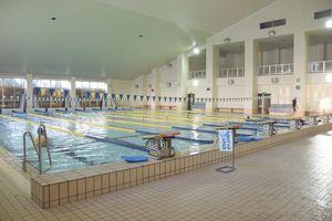 日本水泳連盟公認プールとして多くの大会で利用されてきた25メートルプール
