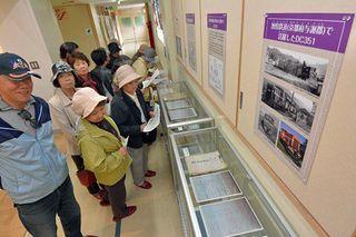 懐かしの南部鉄道、五戸で資料集めた特別展