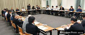 今年の弘前ねぷたまつりの事業計画などについて意見を交わした実務者委員会