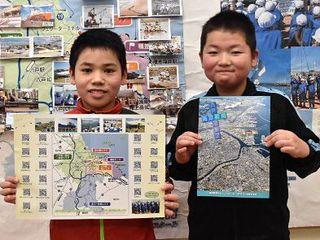 海のまち 魅力マップに/八戸・小中野小