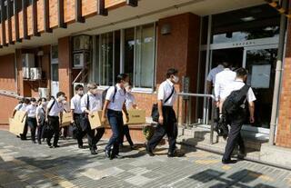 石川県警、金沢市役所を家宅捜索