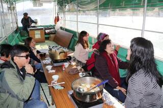 丸森町に台風後初の外国ツアー客