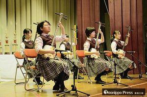 団体・中高生の部で4連覇を飾った福岡大学付属若葉高校のメンバー