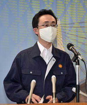 青森市で新型コロナウイルス感染確認が相次いだことを受け、関東方面との往来を「とりわけ慎重に判断して」と呼び掛ける小野寺市長
