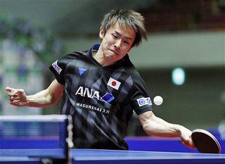 丹羽、張本破り3位/卓球 アジア・カップ最終日