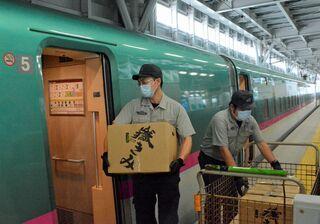 朝採れ嶽きみを新幹線で東京に/JR当日販売