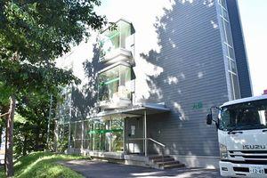 青森大学SDGs研究センターが入る予定の旧本部棟