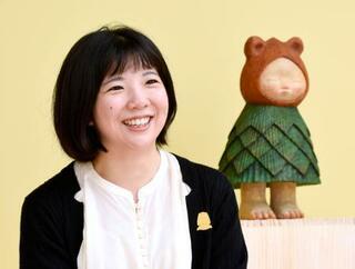 「多士才々」彫刻家の中村萌さん