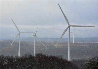 新郷村風力発電所が営業運転開始