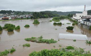 大雨の避難指示・勧告解除、人的被害なし
