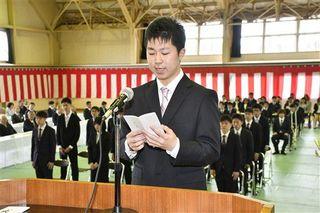 目指せ!農業のスペシャリスト/青森県営農大学校で入校式