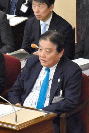 名古屋市議会本会議に出席した河村たかし市長=15日午後