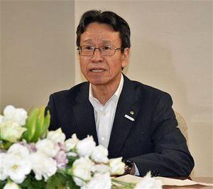 三村知事に就任あいさつに訪れた岩根会長