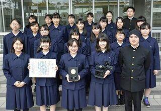 青森県教委が2高校に文化部活動奨励賞
