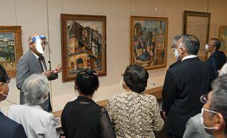 20世紀フランス絵画展開幕