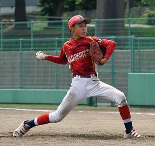 弘前レッド、五所三中V/青森県少年軟式野球