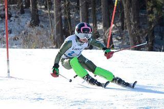 1年生宮川(横内)が2冠/青森県中学スキー