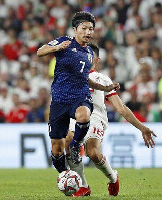 日本2大会ぶり決勝/サッカーアジア杯