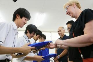 米同時テロ遺族が福島訪問