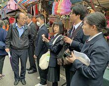 南部町産の果物、台湾で商機/名農生が視察報告