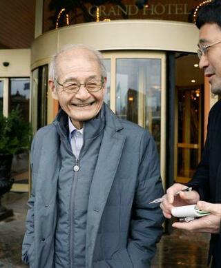 吉野彰さん、15日に帰国