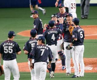 日米野球、日本代表が快勝