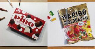 """食べられないグミやキャンディに""""いいね""""集まる 10代の""""リアル絵""""アーティストたちのこだわりとは?"""
