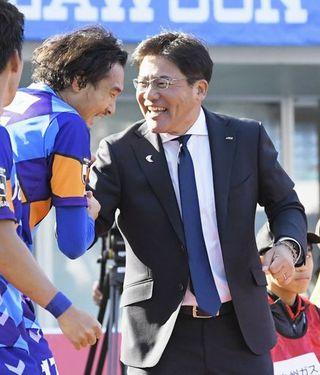 手倉森監督 J2開幕戦白星/長崎、横浜FCに競り勝つ