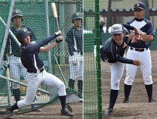 東北高校野球、青森山田が初戦鶴岡東戦に闘志