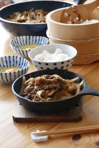 【8品目】バラ焼き風牛肉炒め 甘辛いお肉 安くおいしく