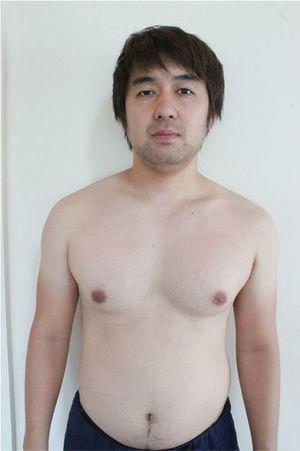 体脂肪25パーセントだったころの田中さん