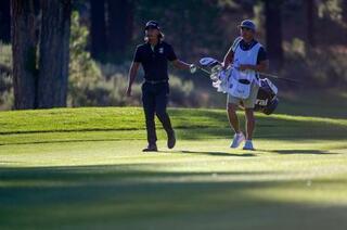 米男子ゴルフ、小平は43位発進
