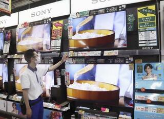 今年のテレビ需要、1%増
