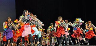 青森の四季を表現/県民文化祭フェス