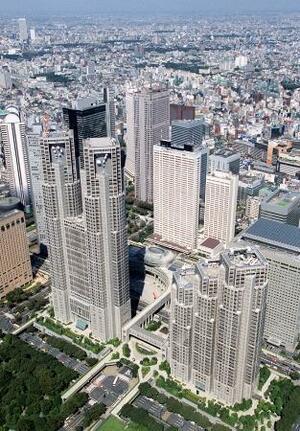 東京都庁舎=東京都新宿区西新宿