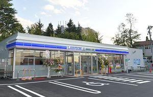 留学生の日本語習得や社会参加の場となるローソン青森大学店