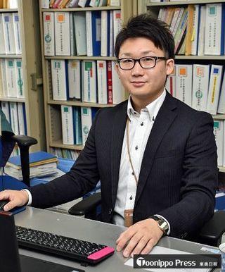 「女川復興の力に」六ケ所村職員・小泉さん出向