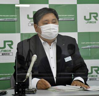 8月の利用客前年比27% 新幹線八戸-盛岡
