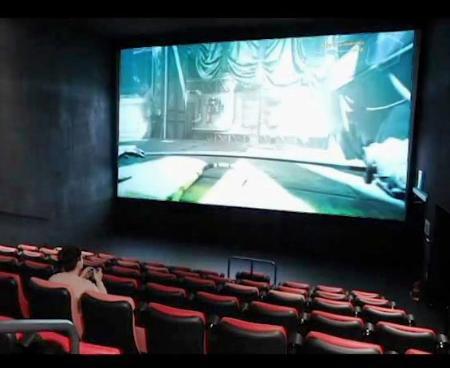 韓国、大スクリーンでゲーム堪能 コロナで閑散期の映画館活用|全国の ...