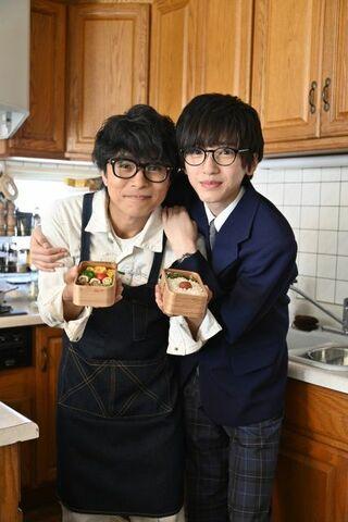 V6・井ノ原快彦×なにわ男子・道枝駿佑、お弁当映画で親子役共演