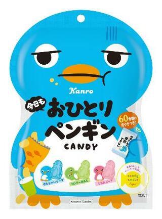 ペンギン形のキャンディー