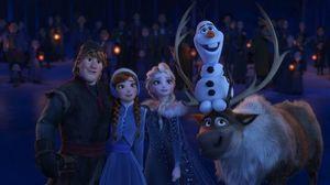 2018年3月公開の『リメンバー・ミー』と同時上映された『アナと雪の女王/家族の思い出』2019年1月3日、テレビ朝日系で放送(C) Disney Enterprises, Inc.