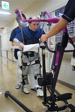 リハビリロボで「生活の質向上」弘大病院